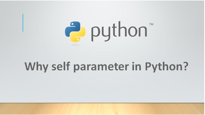 What is the purpose of self in Python?