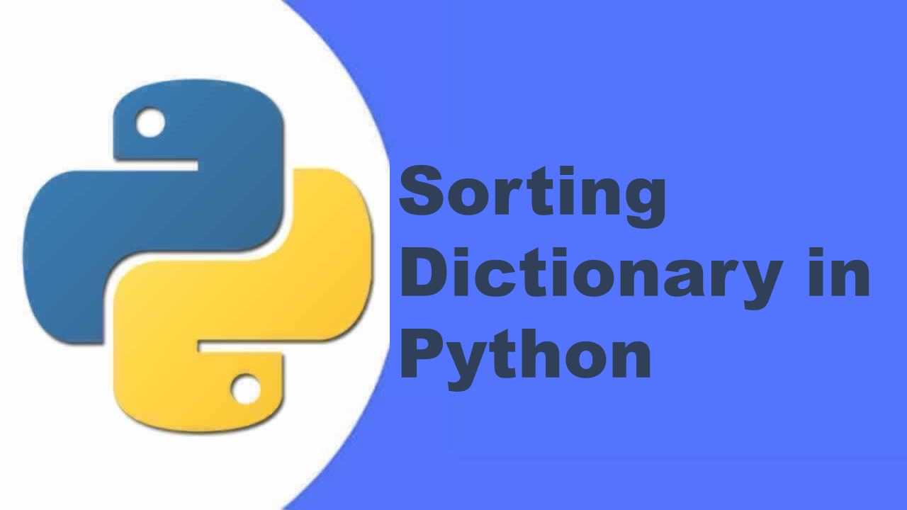 sorting dictionary in python